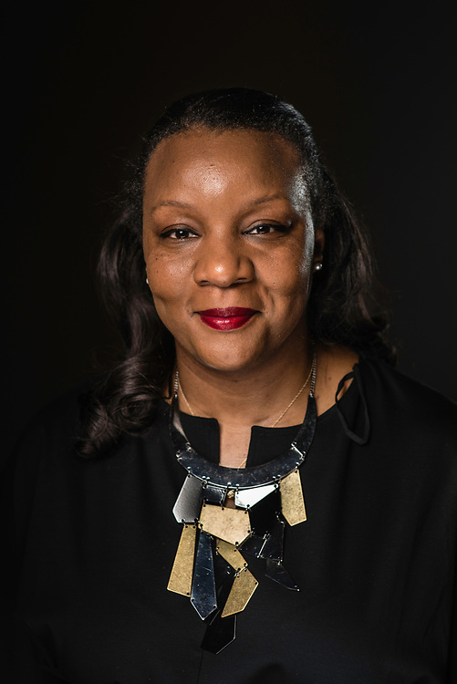 """WASHINGTON,DC - July 26, 2017: Simone Eccelston is Director of Hip Hop Culture and Contemporary Music at the Kennedy Center. She's been in the job four months. She says, """"This position is a continuation of my lifelong commitment to celebrating the intellectual and creative genius of people of color."""". (André Chung for The Undefeated)"""