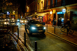Late night street scene in the PLace des Carmes, Toulouse, France<br /> <br /> (c) Andrew Wilson | Edinburgh Elite media