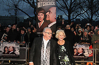 LONDON - DECEMBER 09: Anthony Hopkins; Helen Mirren attended the UK Film Premiere of 'Hitchcock' at The BFI Southbank, London, UK. December 09, 2012. (Photo by Richard Goldschmidt)