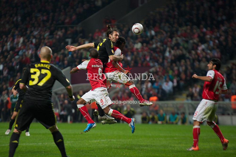 59c6f7df4 European Football - UEFA Europa League - Round of 16 - 1st Leg - Sporting  Clube de Braga v Liverpool FC