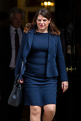 © Licensed to London News Pictures. 24/04/2018. London, UK. First Minister of State for Immigration Caroline Nokes leaves 10 Downing Street after the weekly Cabinet meeting. Photo credit: Rob Pinney/LNP