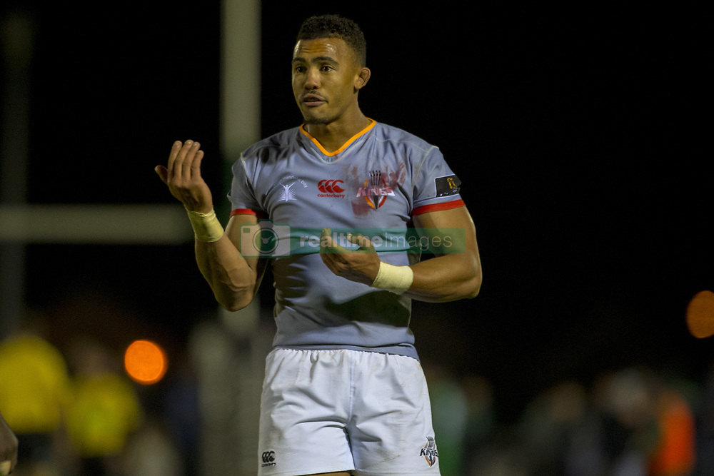 September 9, 2017 - Galway, Ireland - Bobby de Wee of S.Kings during the Guinness PRO14 rugby match between Connacht Rugby and Southern Kings at the Sportsground in Galway, Ireland on September 9, 2017  (Credit Image: © Andrew Surma/NurPhoto via ZUMA Press)