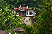 Melnik is the smallest town in Bulgaria. The town is an architectural reserve and 96 of its buildings are cultural monuments.