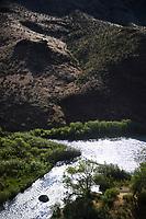 Owyhee River in Eastern Oregon.
