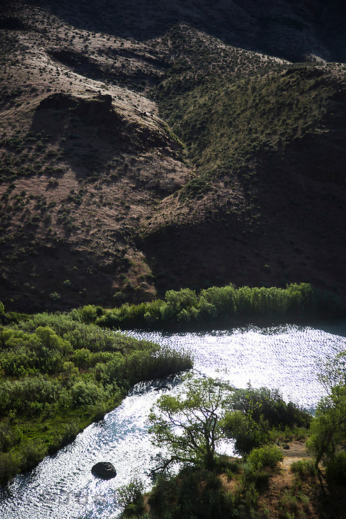 Owyhee River in Eastern Oregon.