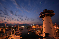 Early morning at the Puerto Vallarta marina Mexico.