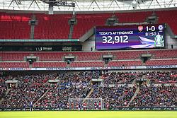 Wembley attendance 32,912 - Mandatory byline: Jason Brown/JMP - 14/05/2016 - FOOTBALL - Wembley Stadium - London, England - Arsenal Ladies v Chelsea Ladies - SSE Women's FA Cup