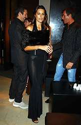 Model YASMIN LE BON at a party to celebrate the first 20 years of fashion label Donna Karan held at her store at 19/20 New Bond Street, London W1 on 21st September 2004.<br /><br />NON EXCLUSIVE - WORLD RIGHTS