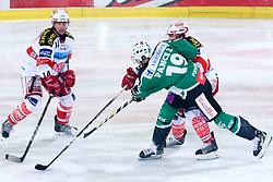 Ziga Pance (HDD Tilia Olimpija, #19) during ice-hockey match between HDD Tilia Olimpija and EC KAC in 32nd Round of EBEL league, on December 30, 2010 at Hala Tivoli, Ljubljana, Slovenia. (Photo By Matic Klansek Velej / Sportida.com)