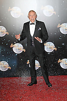 LONDON - SEPTEMBER 11: Bruce Forsyth attended the Strictly Come Dancing Launch at the BBC Television Centre, London, UK. September 11, 2012. (Photo by Richard Goldschmidt)