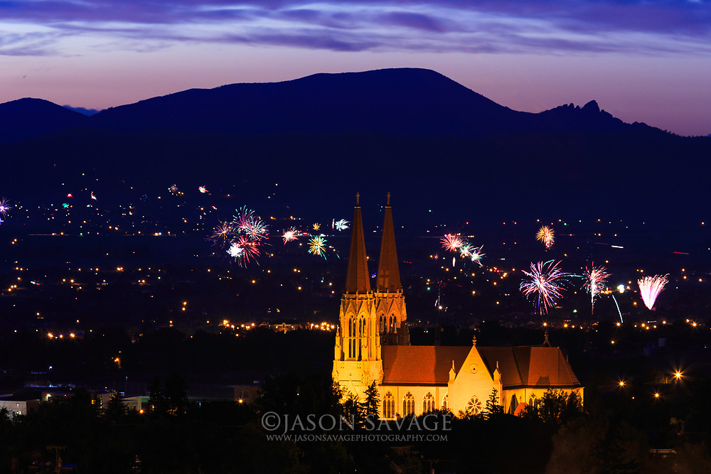 Fourth of July in Helena, Montana.