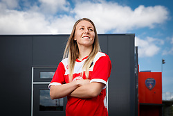 Hannah Short poses for a portrait - Mandatory byline: Rogan Thomson/JMP - 07966 386802 - 09/07/2015 - SPORT - Football - Bristol, England - SGS Wise Campus, Filton - Bristol Academy Womens FC New Signings.