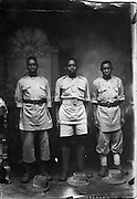 Soldiers of the King's African Rifles.  Photo taken in Addis Ababa.  (1941)