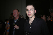 DEAN SULLIVAN AND YOUSSEF NABIL, Book launch party for 'Strangeland' by Tracey Emin.  33 Portland Place. London. 21 October 2005. ONE TIME USE ONLY - DO NOT ARCHIVE © Copyright Photograph by Dafydd Jones 66 Stockwell Park Rd. London SW9 0DA Tel 020 7733 0108 www.dafjones.com
