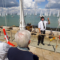 Isle of Wight, Royal Yacht Squadron, Cowes Week 2007 Peter Scott Photographs of the Isle of Wight by photographer Patrick Eden photography photograph canvas canvases