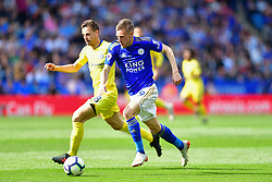 May 12, 2019 - Leicester, England, United Kingdom - Leicester City forward Jamie Vardy (9) makes a run in to the box during the Premier League match between Leicester City and Chelsea at the King Power Stadium, Leicester on Sunday 12th May 2019. (Credit Image: © Mi News/NurPhoto via ZUMA Press)