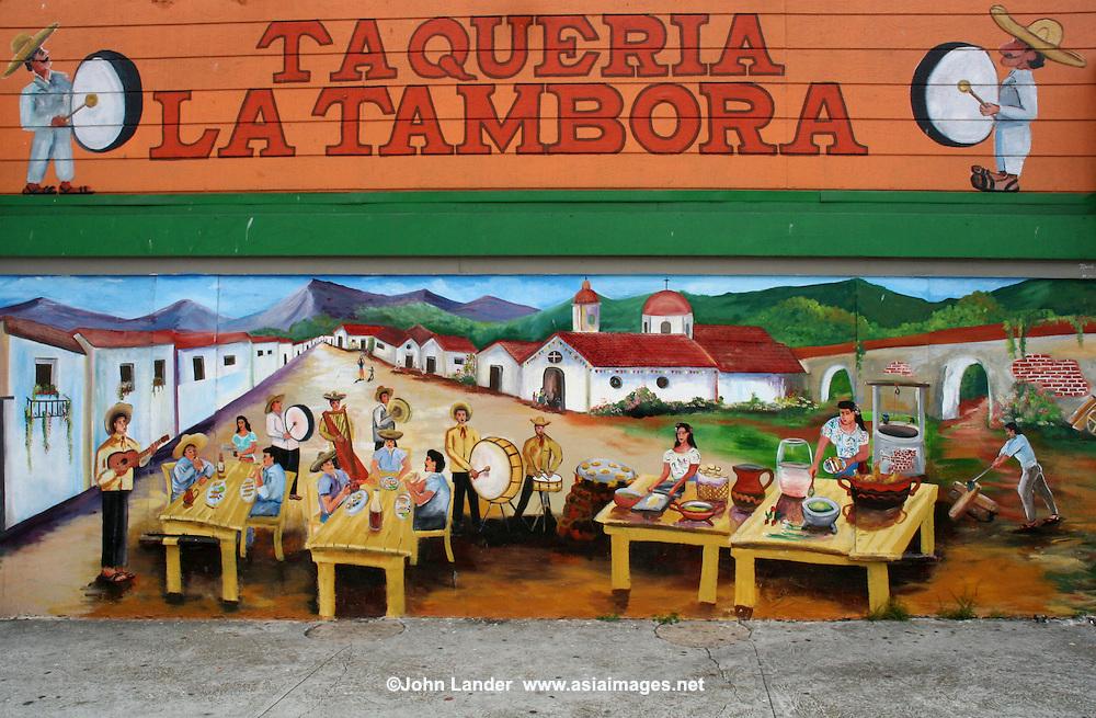 San Francisco Public Art Taqueria Mural