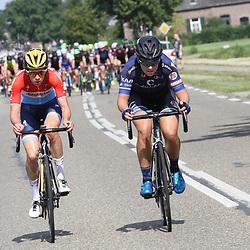 02-09-2017: Wielrennen: Boels Ladies Tour: Vaals: Christine Majerus: Thea Thorsen