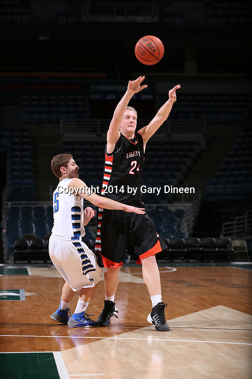 MILWAUKEE, WI - FEBRUARY 8: This image was made during the Libertyville vs Highland Park game as part of the 2013-2014 Prep Series on February 8, 2014 at the BMO Harris Bradley Center in Milwaukee, Wisconsin.