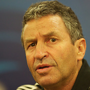 New Zealand assistant coach Wayne Smith during a press conference in Auckland at the IRB Rugby World Cup tournament, Auckland, New Zealand, 22nd October 2011. Photo Tim Clayton...