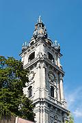 Belfried, UNESCO Weltkulturerbe, Mons, Hennegau, Wallonie, Belgien, Europa   belfry, UNESCO World Heritage, Mons, Hennegau, Wallonie, Belgium, Europe
