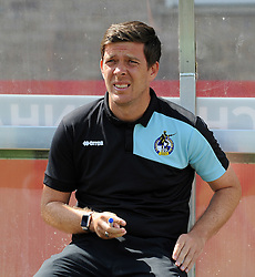 Bristol Rovers manager, Darrell Clarke  - Mandatory by-line: Neil Brookman/JMP - 25/07/2015 - SPORT - FOOTBALL - Cheltenham Town,England - Whaddon Road - Cheltenham Town v Bristol Rovers - Pre-Season Friendly