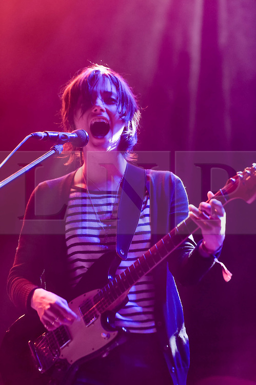 © Licensed to London News Pictures. 30/05/2014. Barcelona, Spain.   Sharon Van Etten performing live at Primavera Sound festival. In this picture - Sharon Van Etten. Sharon Van Etten is an American singer-songwriter.Primavera Sound, or simply Primavera, is an annual music festival that takes place in Barcelona, Spain in late May/June within the Parc del Fòrum leisure site. Photo credit : Richard Isaac/LNP