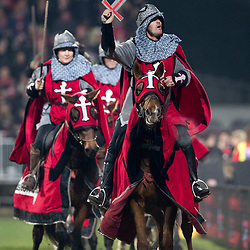 Crusader Horsemen during game 3 of the British and Irish Lions 2017 Tour of New Zealand,The match between  Crusaders and British and Irish Lions, AMI Stadium, Christchurch, Saturday 10th June 2017<br /> (Photo by Kevin Booth Steve Haag Sports)<br /> <br /> Images for social media must have consent from Steve Haag