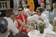 Jeremy Sheffield, Maria Grachvogel and Mike Simcock Veuve Clicquot Gold Cup 2006. Final day. 23 July 2006. ONE TIME USE ONLY - DO NOT ARCHIVE  © Copyright Photograph by Dafydd Jones 66 Stockwell Park Rd. London SW9 0DA Tel 020 7733 0108 www.dafjones.com
