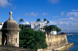La Fortaleza:  Adjacent to El Morro and now protected as part of San Juan National Park, this mansion was built in 1540 and is the oldest governor's mansion still occupied in the western hemisphere.