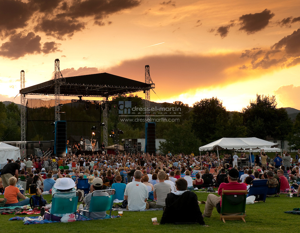 Denver Botanic Gardens at Chatfield  Pretenders Concert