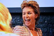 AMSTERDAM - In Huize Frankendael hield SBS6 een perspresentatie over hun nieuwe woensdagavond televisie.  Met op de foto Leontine Borsato-Ruiters die het programma Hart in Aktie presenteerd voor het tv seizoen 2012. FOTO LEVIN DEN BOER - PERSFOTO.NU