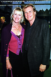 MR & MRS THEO FENNELL, he is the jeweller, at a reception in London on 20th September 2000.OHD 78