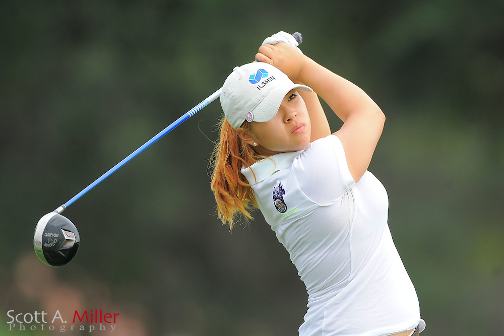 Mindy Kim during the first round of the CME Group Titleholders at Grand Cypress Resort on Nov. 17, 2011 in Orlando, Fla.  ..©2011 Scott A. Miller