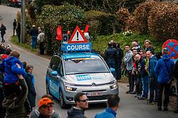 Course car during the UCI WorldTour 103rd Liège-Bastogne-Liège from Liège to Ans with 258 km of racing at Cote de Pont, Belgium, 23 April 2017. Photo by Pim Nijland / PelotonPhotos.com | All photos usage must carry mandatory copyright credit (Peloton Photos | Pim Nijland)