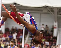 Boston University John Terrier Classic Indoor Track & Field: mens high jump, UMass Lowell