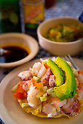 Ceviche, Pichis seafood reastaurant, Vallarta Food Tours, El Pitillal, Puerto Vallarta, Jalisco, Mexico