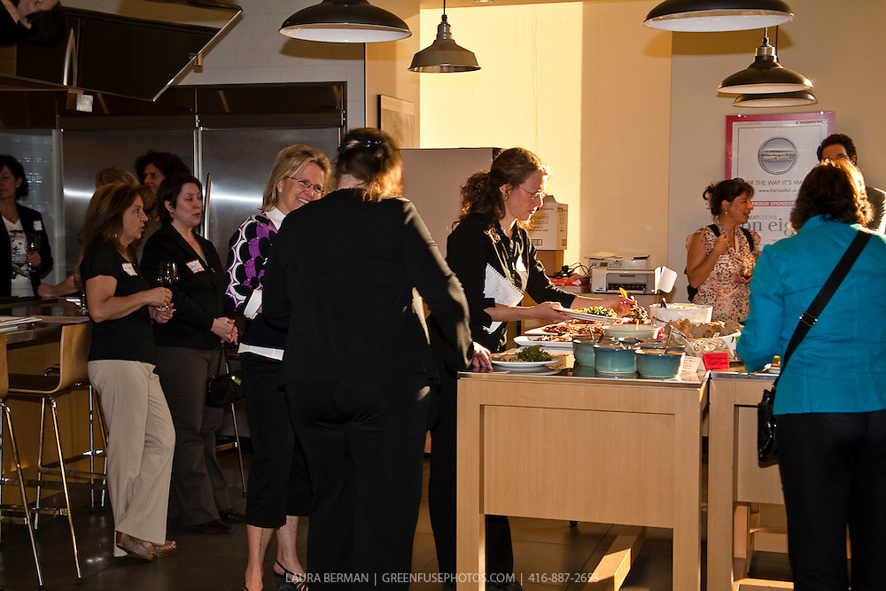 Women's Culinary Network Woman of the Year dinner