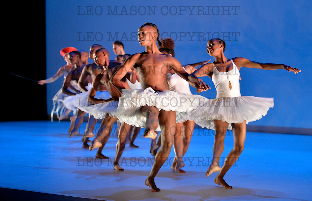 17.06.2014 Dada Masilo's SWAN LAKE part of the Sadlers Sampled Festival at Sadlers  Wells Theatre London UK<br /> Odette Dada Masilo