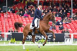 Fox Pitt William, (GBR), Chilli Morning<br /> Dressage<br /> Mitsubishi Motors Badminton Horse Trials - Badminton 2015<br /> © Hippo Foto - Libby Law<br /> 08/05/15