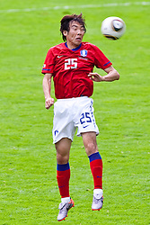 30.05.2010, Kufstein Arena, Kufstein, AUT, FIFA Worldcup Vorbereitung, Testspiel Sued Korea (KOR) vs Weissrussland (BLR), im Bild Cho Young-Hyung (KOR #25). EXPA Pictures © 2010, PhotoCredit: EXPA/ J. Groder / SPORTIDA PHOTO AGENCY
