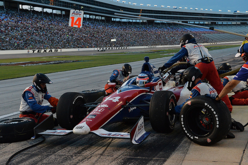 Takuma Sato, Texas Motor Speedway, Ft. Worth, TX USA 6/7/2014