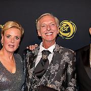NLD/Amsterdam/20191009 - Uitreiking Gouden Televizier Ring Gala 2019, Martien Meiland en Erica Meiland en Maik de Boer