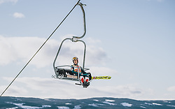 09.03.2020, Lysgards Schanze, Lillehammer, NOR, FIS Weltcup Skisprung, Raw Air, Lillehammer, Herren, Probesprung, im Bild Stefan Kraft (AUT) // Stefan Kraft of Austria before men's trial jump of the 2nd Stage of the Raw Air Series of FIS Ski Jumping World Cup at the Lysgards Schanze in Lillehammer, Norway on 2020/03/09. EXPA Pictures © 2020, PhotoCredit: EXPA/ JFK