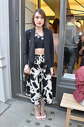 ELLA CATLIFF at the Prism Boutique Summer Party held at Prism, 54 Chiltern Street, London on 14th May 2014.