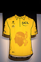 CYCLING - PRESENTATION TOUR DE FRANCE 2013 - PARIS (FRA) - 24/10/2011 - PHOTO JULIEN BIEHLER / DPPI - Yellow Jersey - Maillot Jaune - Corse - Illustration - The 100th edition - Centenaire
