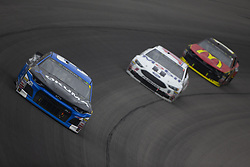 June 10, 2018 - Brooklyn, Michigan, United States of America - Ryan Newman (31) races off turn one during the FireKeepers Casino 400 at Michigan International Speedway in Brooklyn, Michigan. (Credit Image: © Stephen A. Arce/ASP via ZUMA Wire)