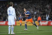 FOOTBALL - FRENCH CHAMPIONSHIP 2009/2010 - L1 - MONTPELLIER HSC v AJ AUXERRE - 13/03/2010 - PHOTO SYLVAIN THOMAS / DPPI - ALBERTO COSTA (MON)