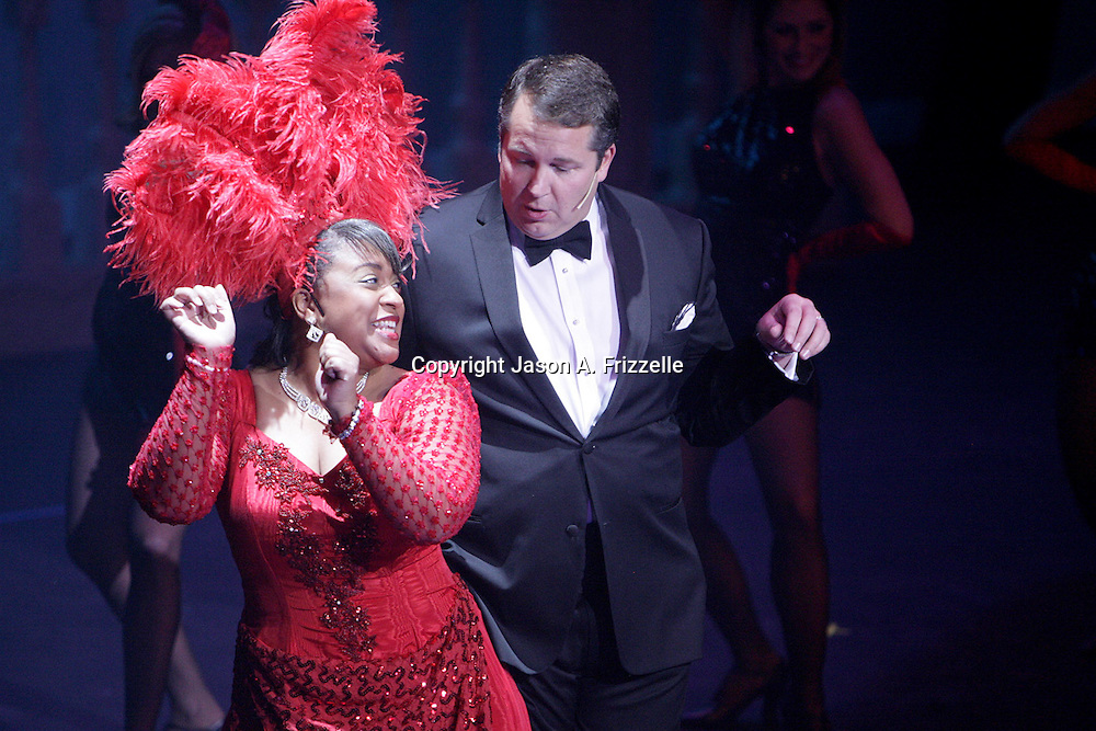 "Actors perform ""Razzle Dazzle"" from the musical Chicago at the Wilmington Theater Awards at Thursday January 23, 2014 at Thalian Hall. (Jason A. Frizzelle)"
