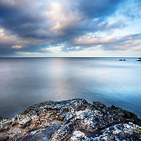 Rock Sea and Sky on the Fife Coast